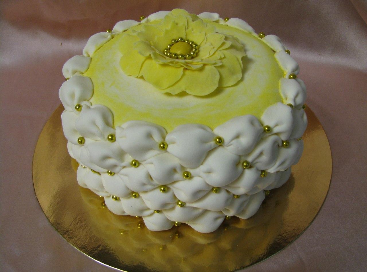 Кремовые свадебные торты фото - советы по выбору, варианты оформления 68